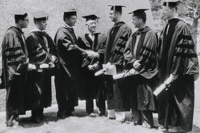 First graduating class, 1959