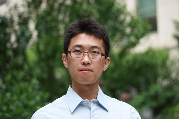 Zhe Zhang portrait