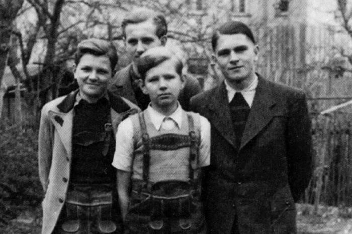 Young Günter Blobel