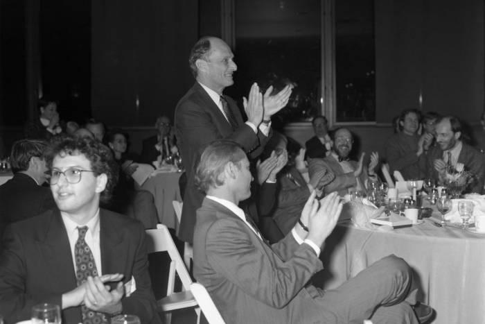Paul Greengard at 65th birthday symposium dinner