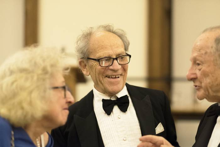 2017 Convocation Honorary Degree Dinner with Mary Jeanne Kreek and Torsten Wiesel