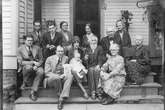 Darnell family in 1930