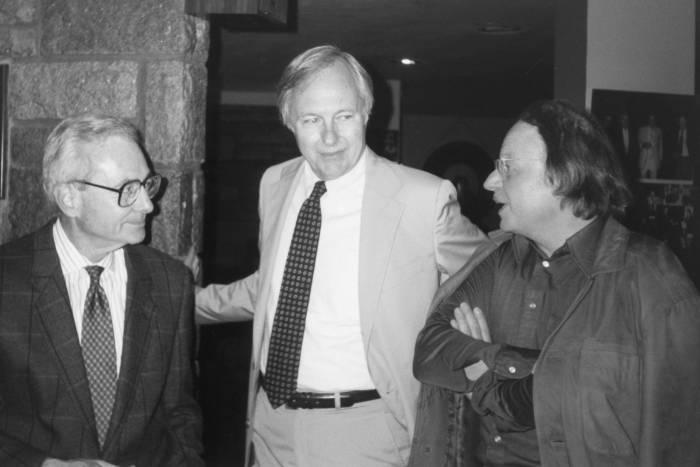 Leon Levintow, James Darnell, and Klaus Scherrer