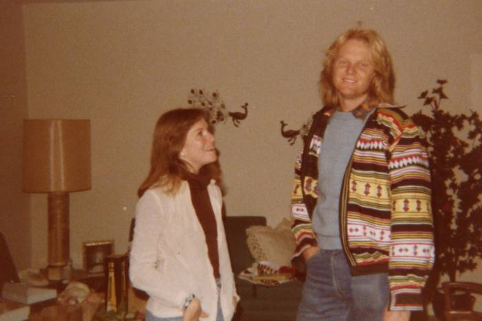 Mike Young and Laurel Eckhardt in the 1980s