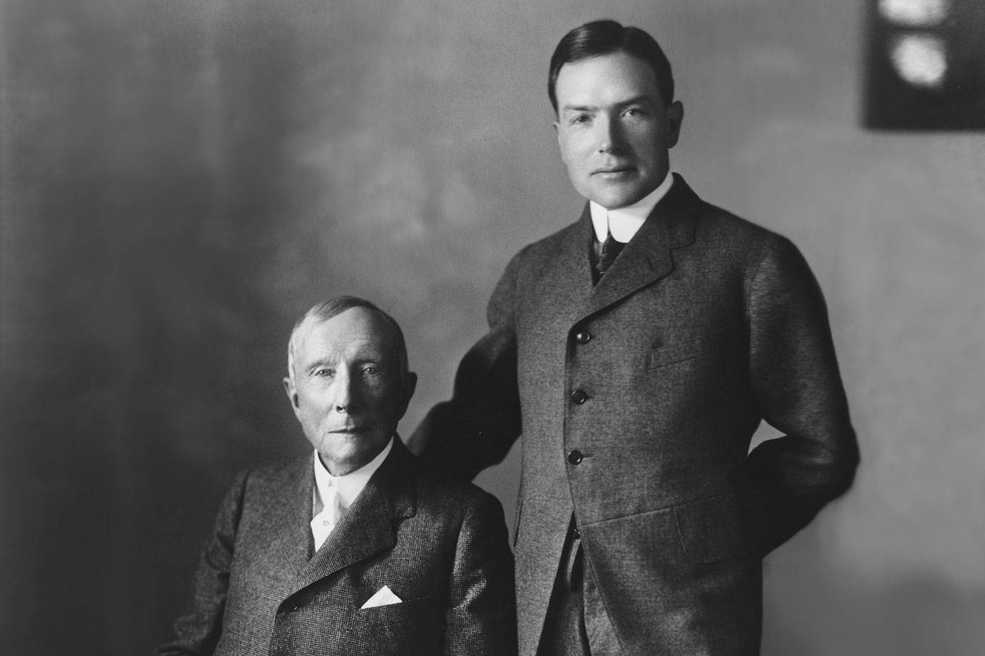 John David Rockefeller, Jr. and Sr.