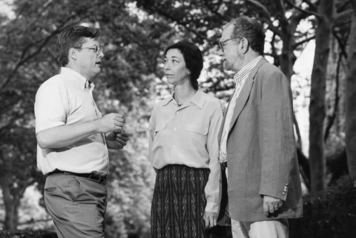 Bruce McEwen, Marjorie Russel, Peter Model