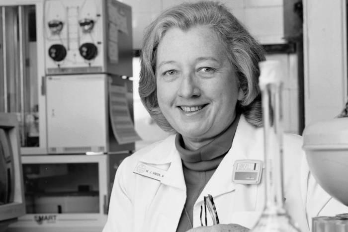 Mary Jeanne Kreek in 1992