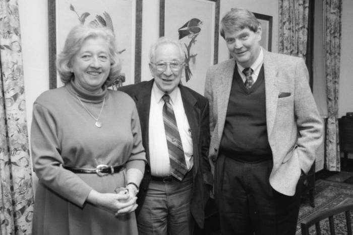 Mary Jeanne Kreek with Emil Gotschlich