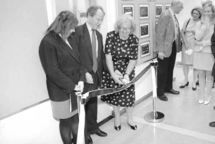 Dedication of Kreek lab in June 1999