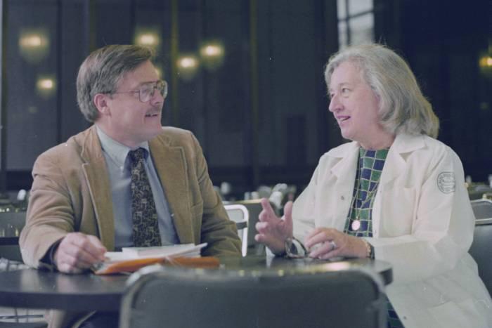 Mary Jeanne Kreek and Bruce McEwen in conversation