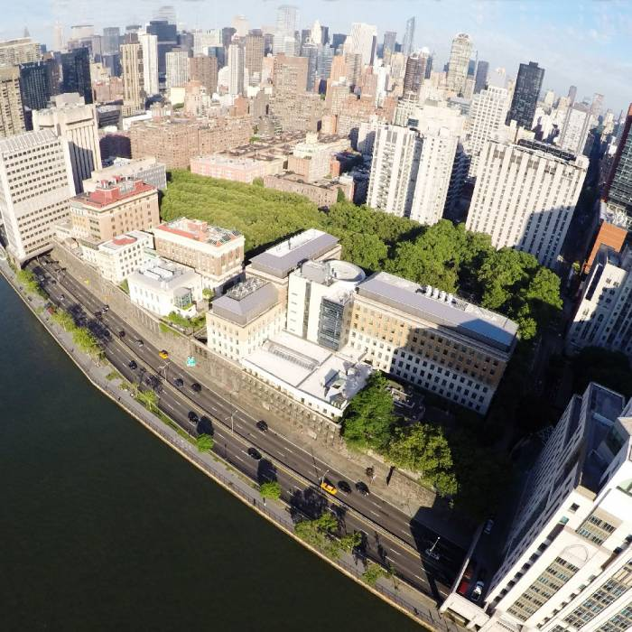 The Rockefeller campus in the heart of New York City