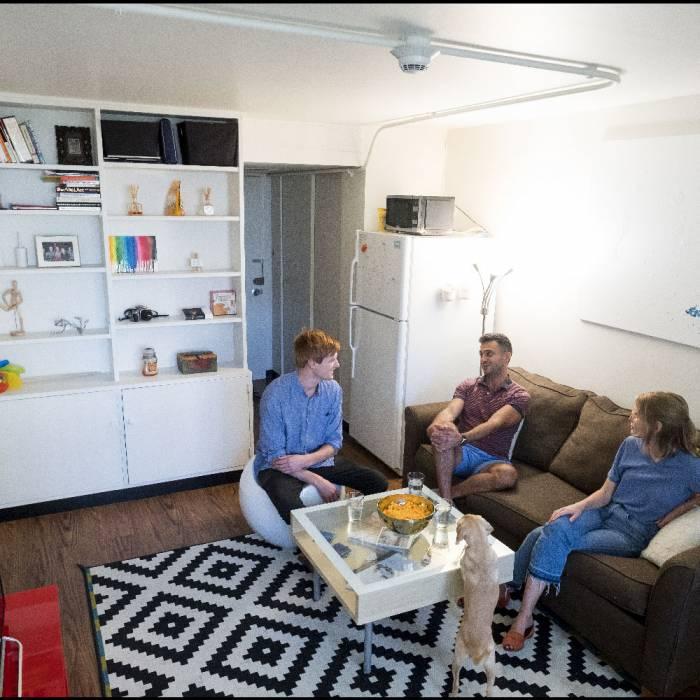 A Rockefeller student residence