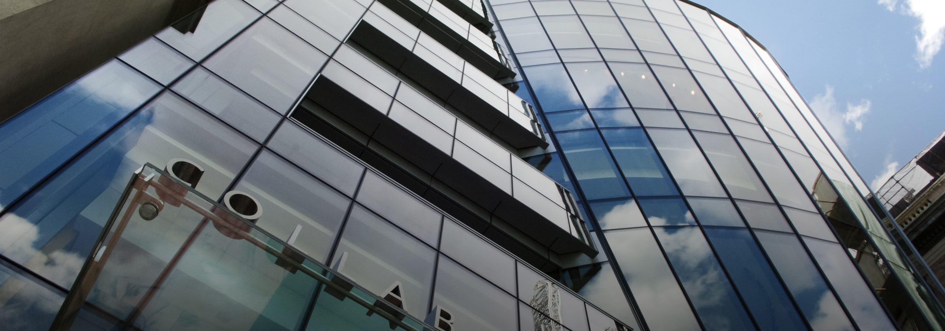 Greenberg building facade