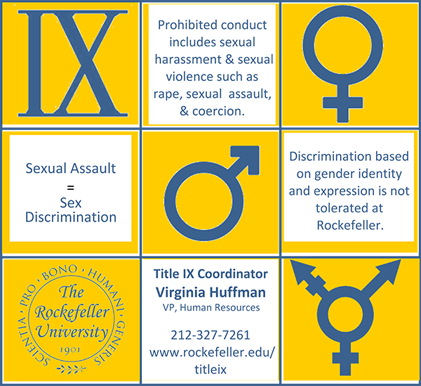 Sexual harassment is a form of sex discrimination prohibited under title ix