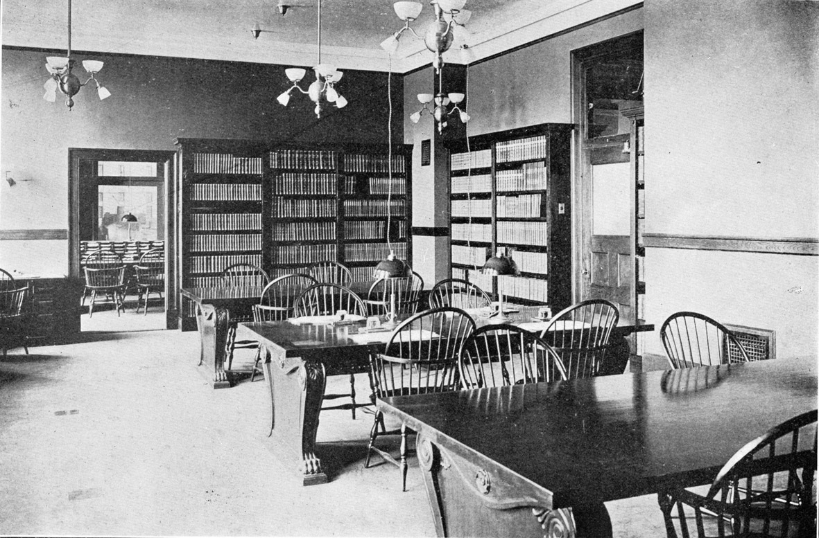 Library in Founders Hall