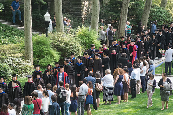 convocation procession