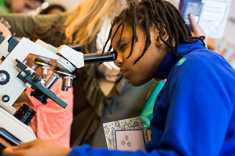 Microscopes were everywhere, providing kids with an opportunity to observe many different types of biological phenomena using the same professional tools as working scientists.