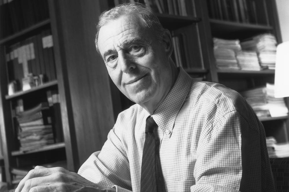 E.G.D. Cohen portrait
