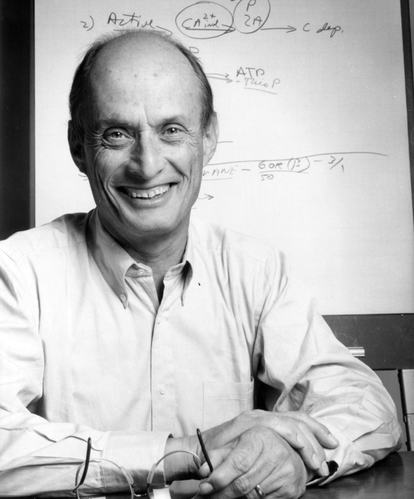 Paul Greengard in 1987.