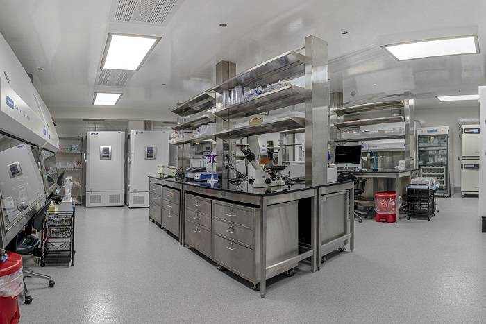 Biosafety Level 3 (BSL3) laboratory