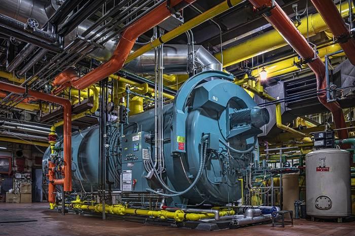 Rockefeller's new boiler