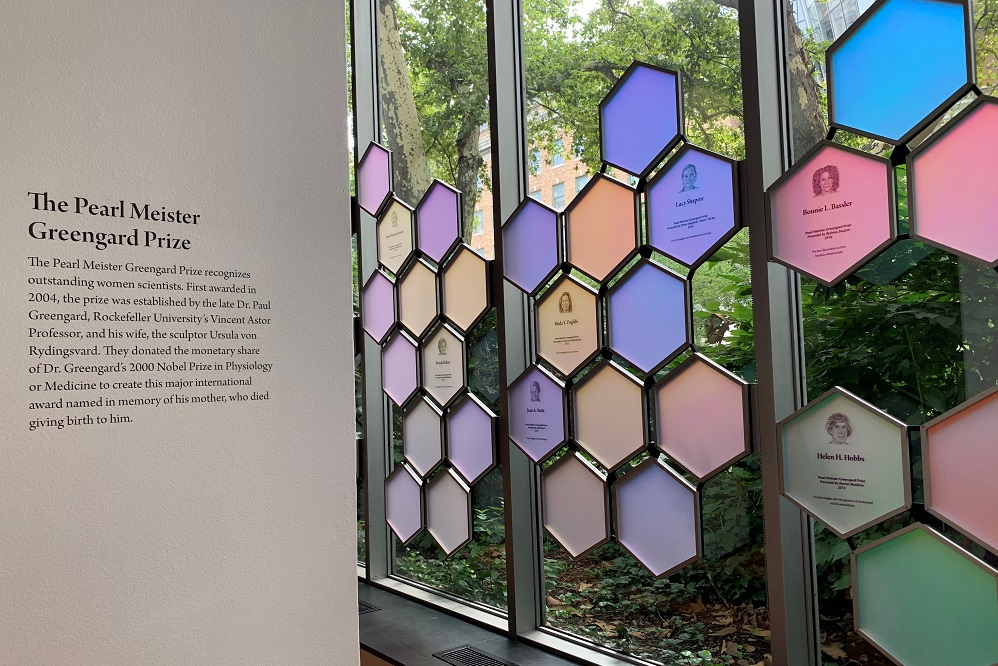 Pearl Meister Greengard Prize exhibit