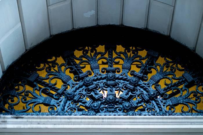 Rockefeller front entrance