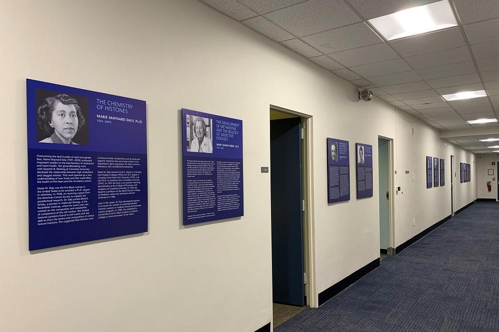 New hospital hallway exhibit