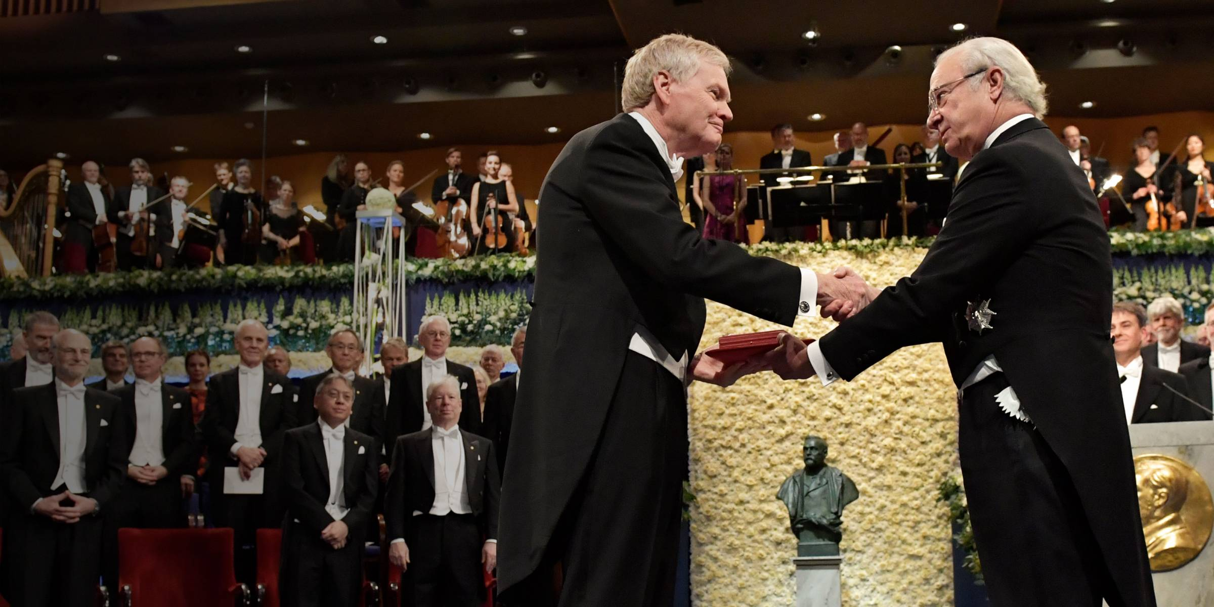 Michael W. Young receives the 2017 Nobel Prize