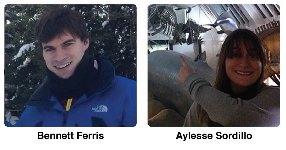 Bennett Ferris and Aylesse Sordillo