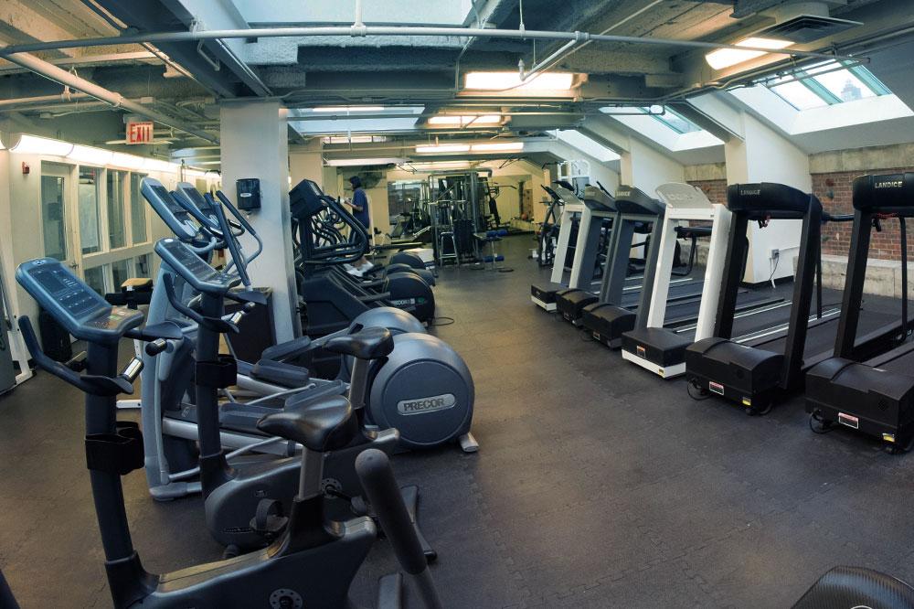 Gym at Rockefeller