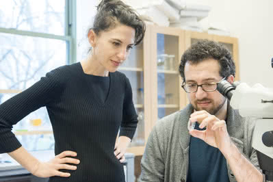 Vanessa Ruta and Raphael Cohn in Ruta Lab