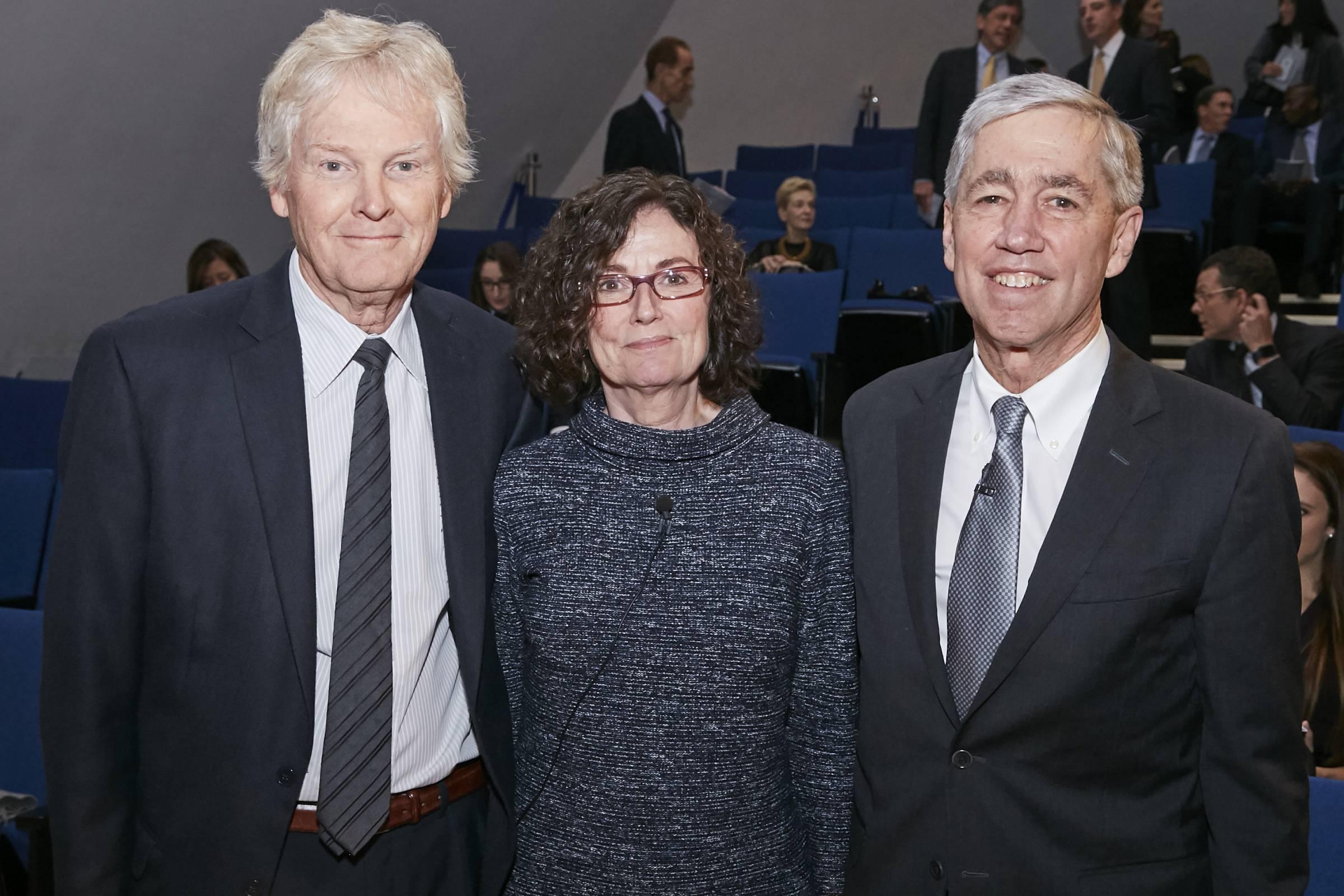 Michael Young, Titia de Lange, and Rick Lifton