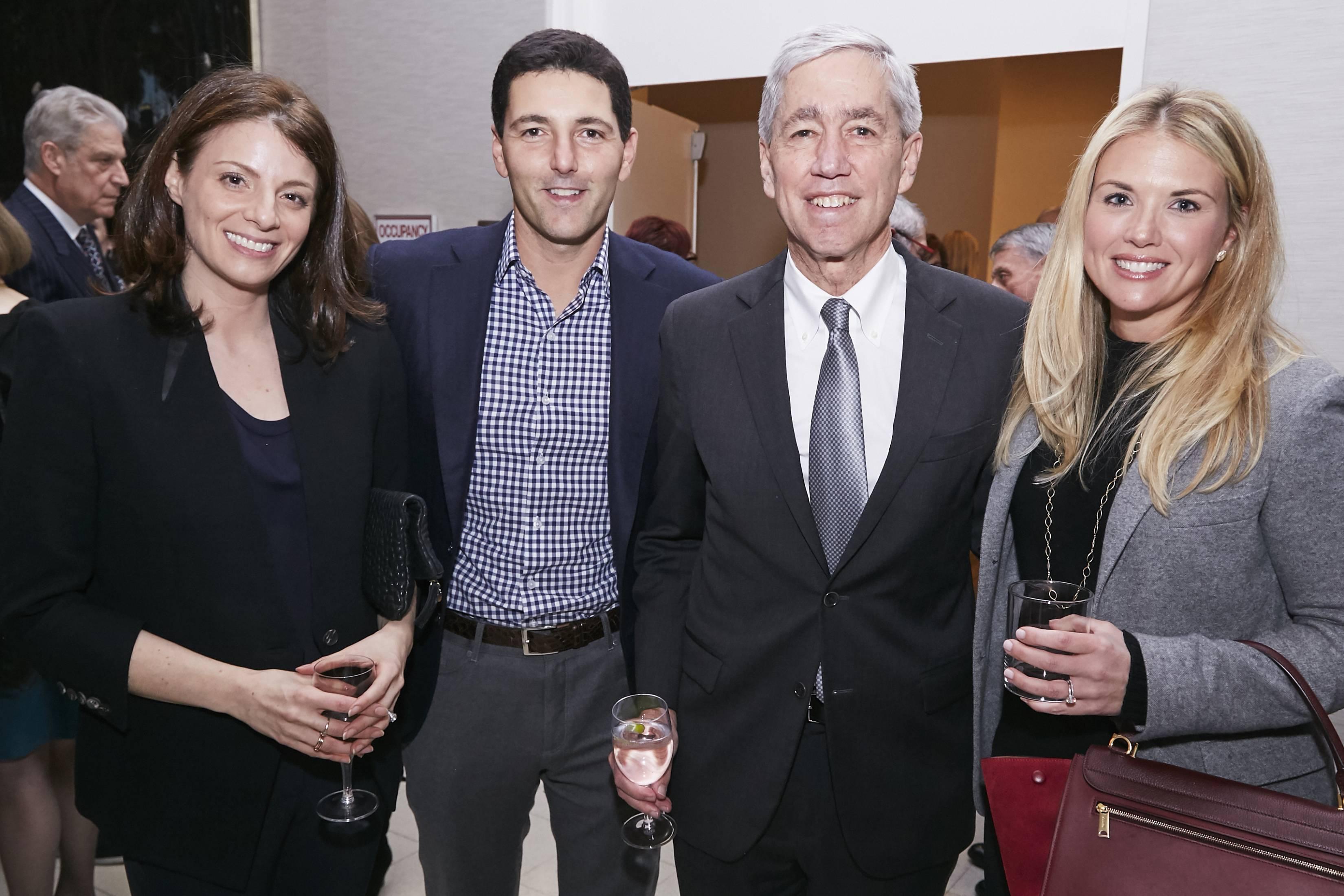Lauren Breslow, Jonathan Korngold, Rick Lifton, and Kristy Korngold