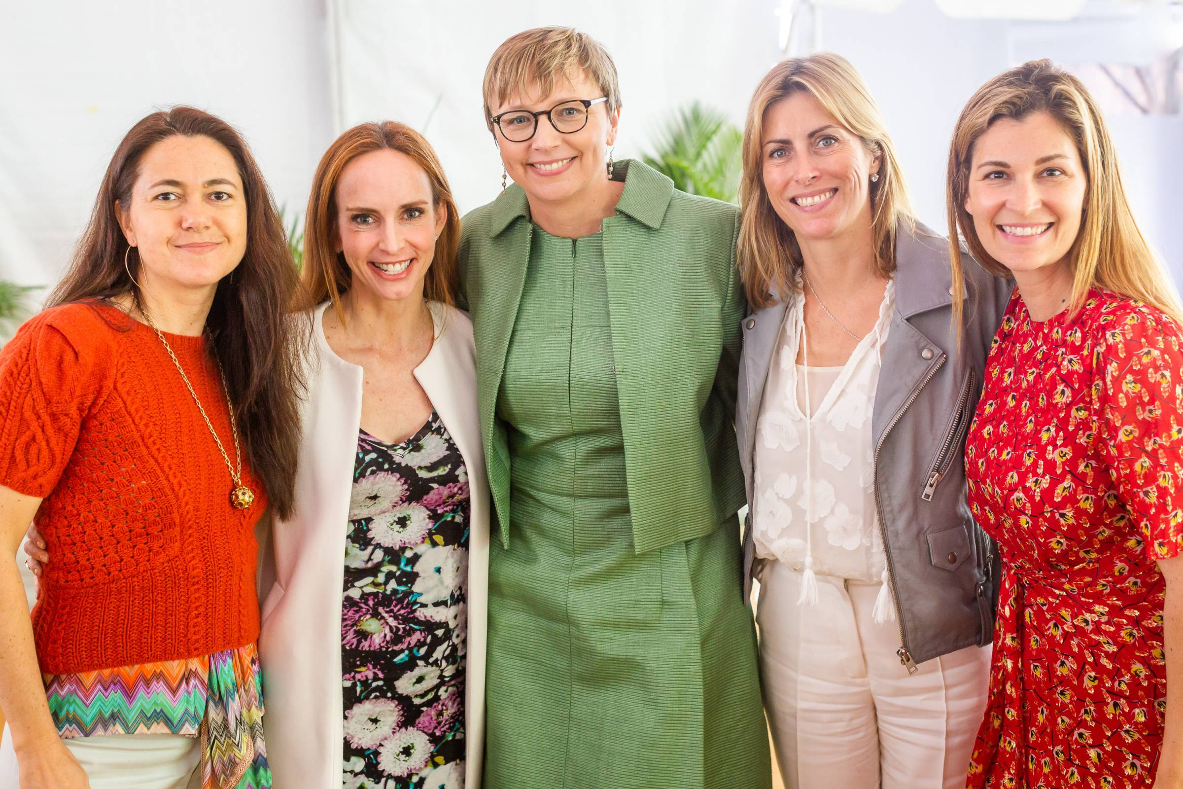 Alexandra Rowley, Faith Salie, Agata Smogorzewska, Tanya Simon, Nicole Palame