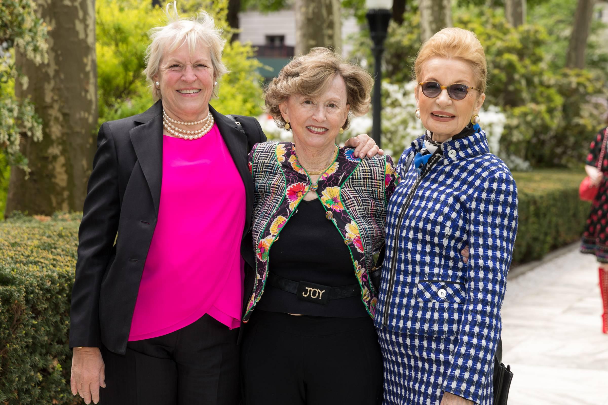 Bonnie Johnson, Gail Hunt Reeke, Elaine Arace