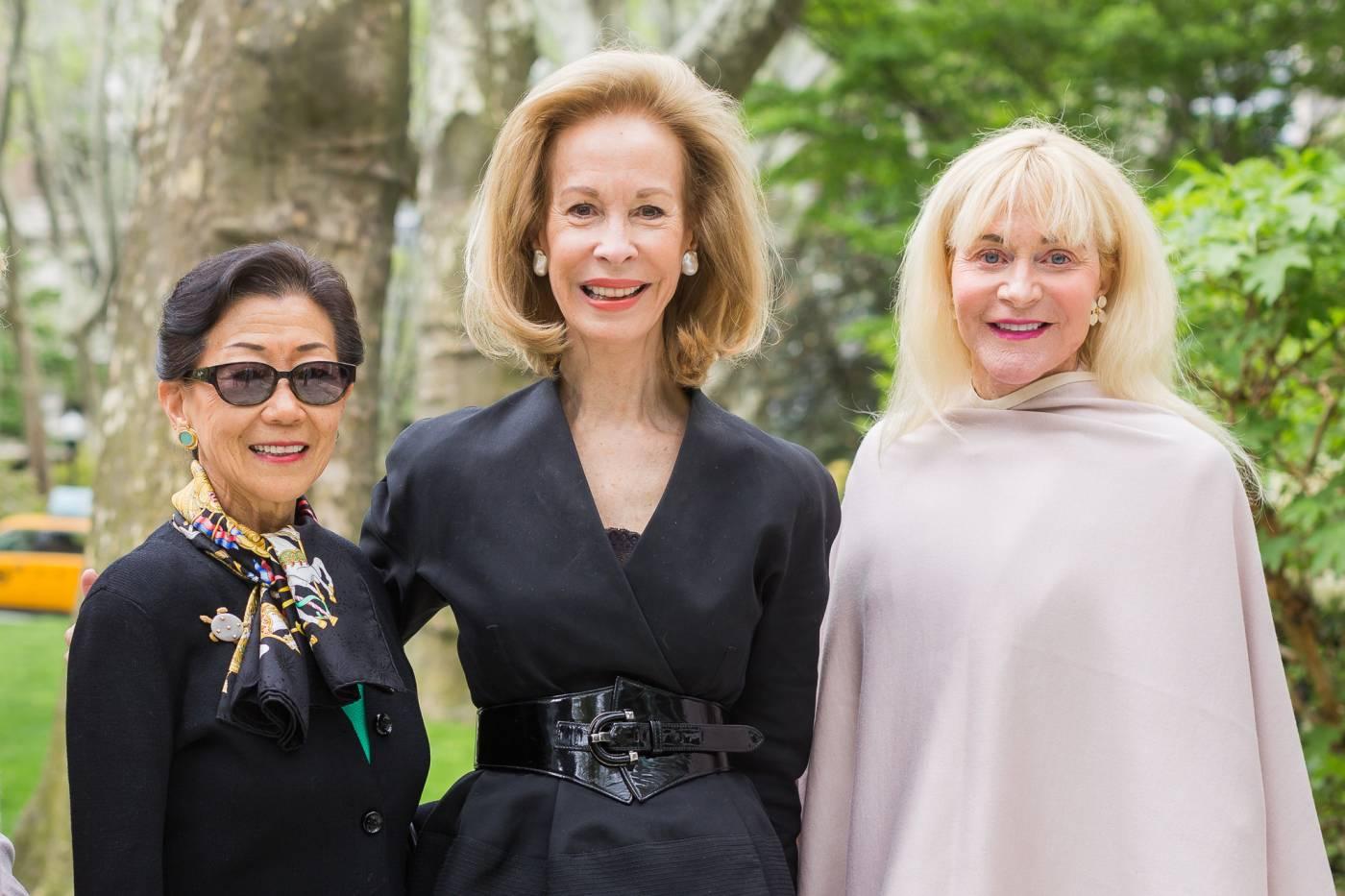Lulu Wang, Bonnie McElveen-Hunter, Lydia Forbes