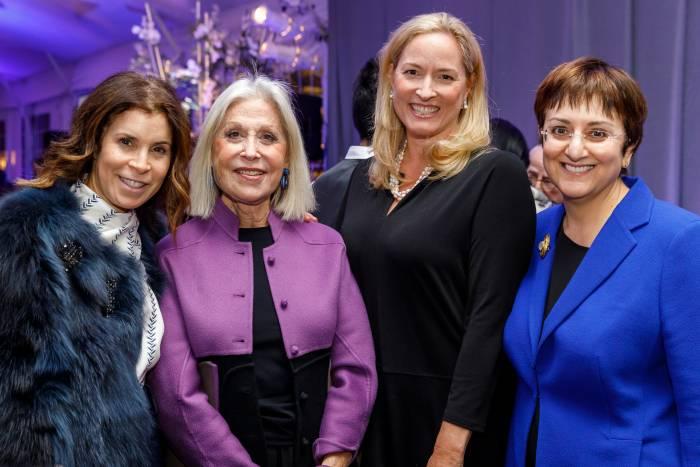 Teri Volpert, Susan Zises Green, Courtney Rae, and Robin Neustein
