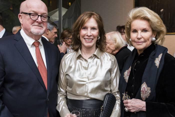 Bill Speck, Evelyn Lipper, and Sydney Shuman