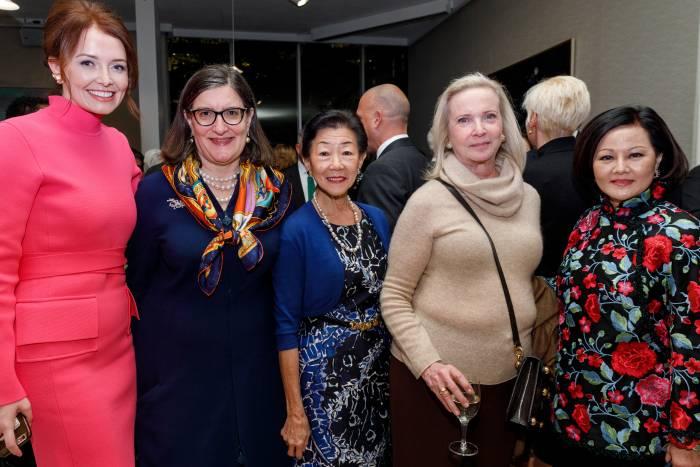 Lindsey Boylan, Sarah Schlesinger, Lulu Wang, Denise Kellen, and Ming Hsu