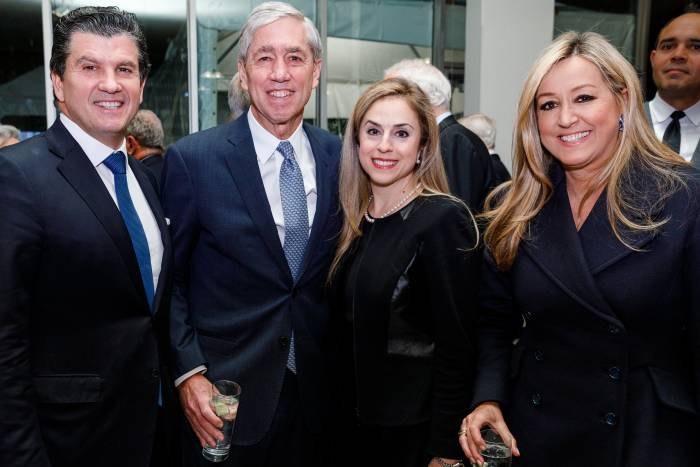 Bill Ford, Rick Lifton, Michelle Dipp, and Marigay McKee
