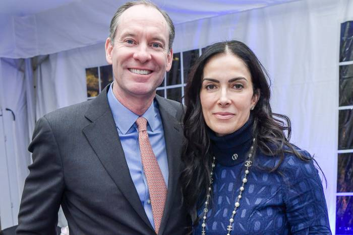 Tim O'Connor and Jasmina Denner
