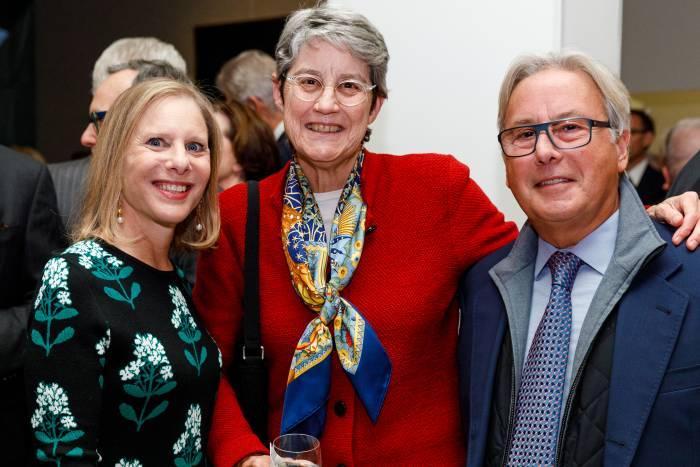 Melanie Shorin, Gail Caulkins, and Greg Feldman