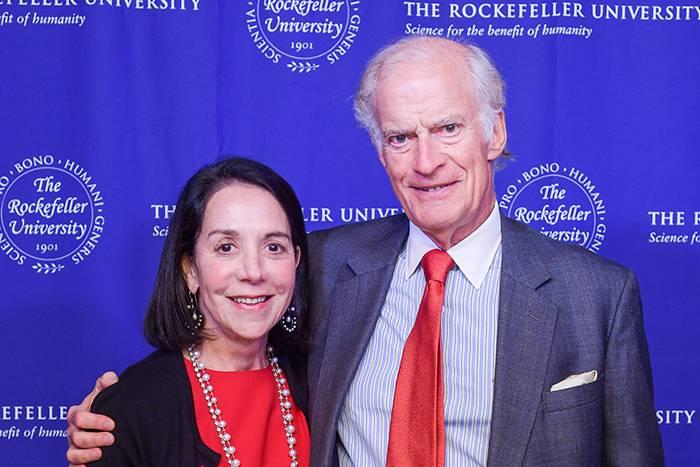 Marlene Hess and Jim Zirin