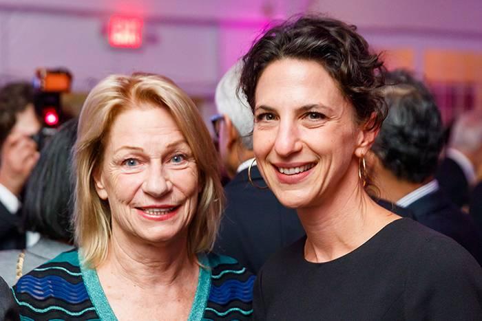 Marilyn Simons and Vanessa Ruta