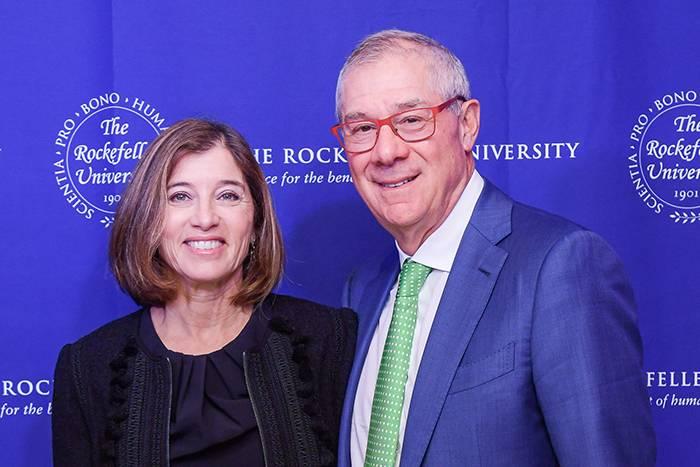 Karen and Paul Levy