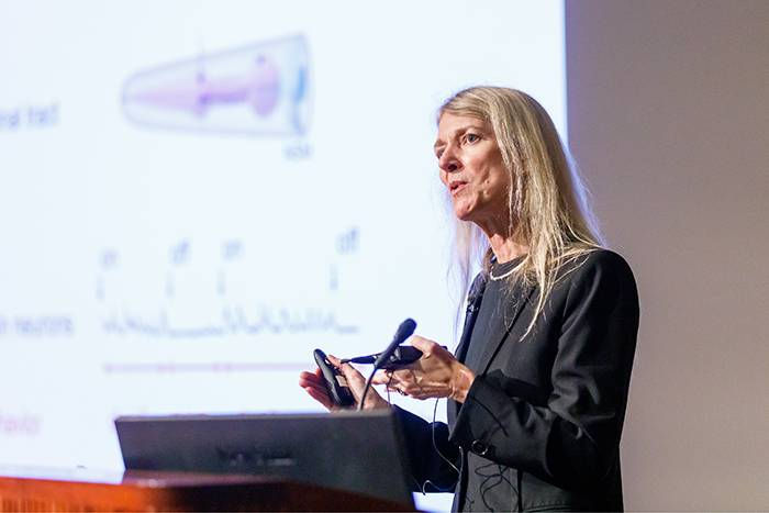 Cori Bargmann lectured on The Ever-Developing Brain